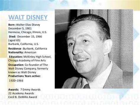 biography of walt disney walt disney