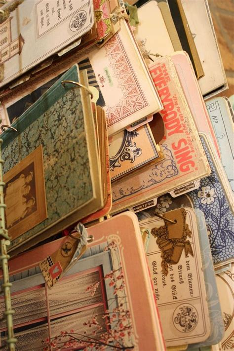 Handmade Diary Ideas - handmade journals paper ideas