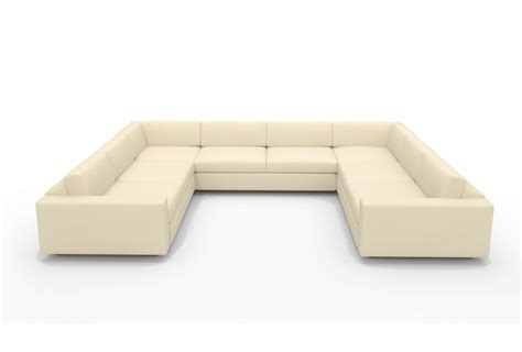 u shaped sofa u shaped sectional with chaise design homesfeed