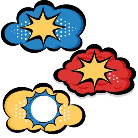 Free Software Mailed To Me At Home superhero clouds svg cutting files for scrapbooking