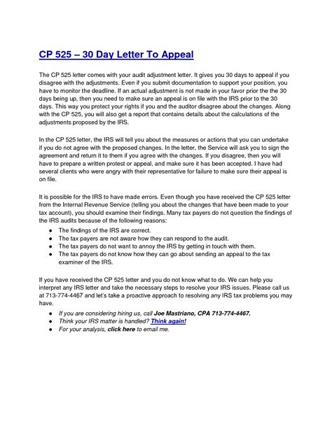 audit reconsideration letter template examples letter