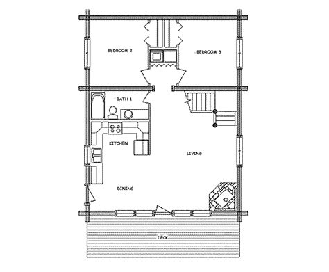 small cabin layouts log home floor plan base c