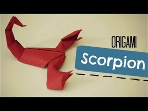 How To Make An Origami Scorpion - diy paper craft projects ideas my crafts show your