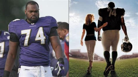 hairs michael oher players footballs american michael oher says the blind side has ruined his football
