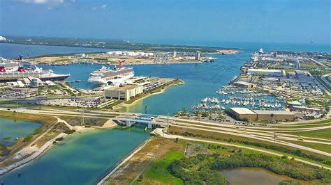 port canaveral cruise port everglades at fort lauderdale