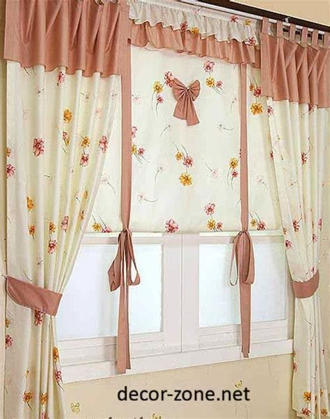 kitchen valances modern 73 best images about cortinas con apliques para cocina