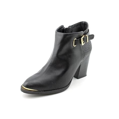 rock republic womens ankle boot jax black solid made