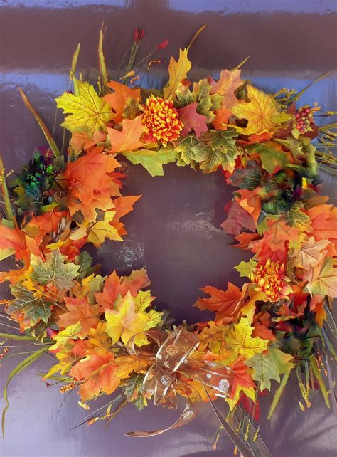 home made fall decorations autumn lights picture autumn decoration ideas