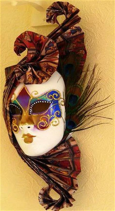 Decorating A Masquerade Mask by Modern Wall Decoration With Venetian Masks Made For A
