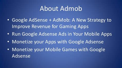 adsense for mobile apps make your adsense preferred account for admob to monetize