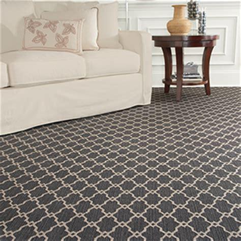 Navy Trellis Rug Update Your Flooring With Patterned Carpet Dzine Talk