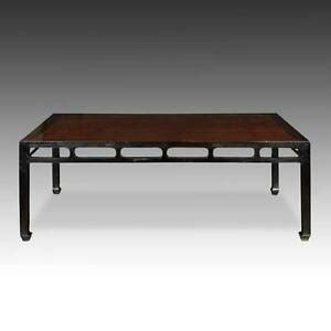 antique chinese qing dining room table elm wood furniture