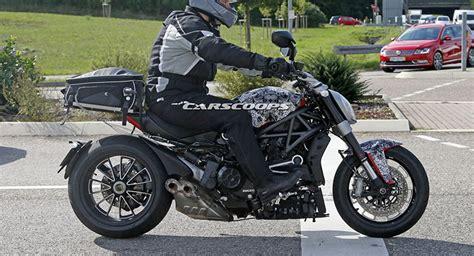 Tnt Motorrad Frankfurt by Future Ducati Diavel Spied On The Roads Carscoops