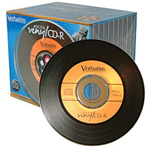 verbatim printable vinyl cd vinyl cd rs from verbatim ubergizmo