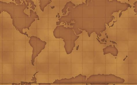 Geography Map Brown Landscape Backgrounds Presnetation Geography Powerpoint Templates