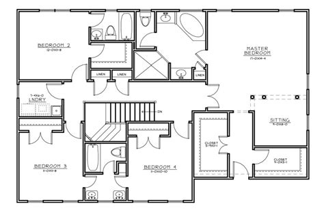 center colonial floor plan center colonial house plans center colonial