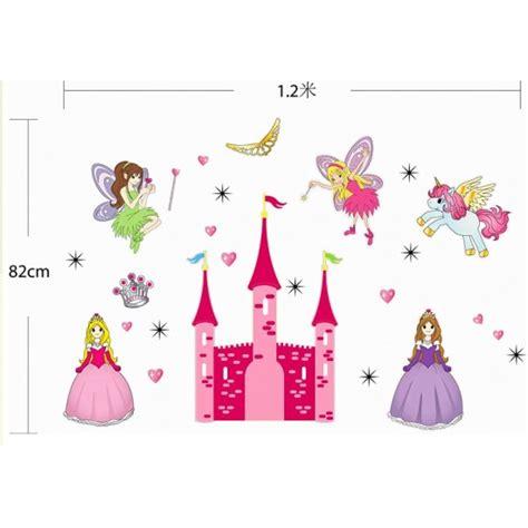 princess castle nursery wall decal wall stickers