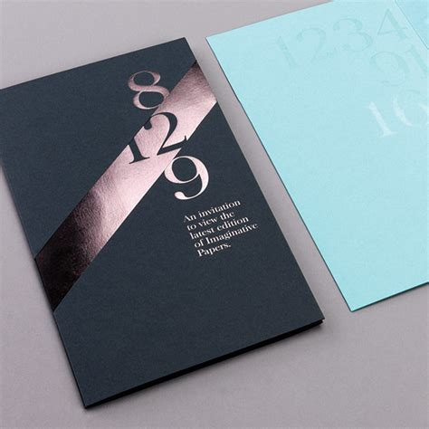 invitation card graphic design 22 papers by fedrigoni on behance