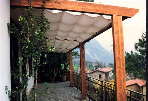 pergole da terrazzo pergole e pergolati in legno lamellare tendasol
