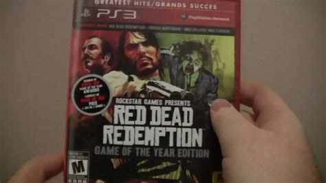 Bd Ps3 Dead Redemption Of The Year Edition dead redemption of the year edition ps3 unboxing