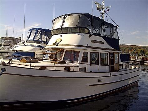 used boats boat trader marine trader 44 tri cabin 1981 used boat for sale in