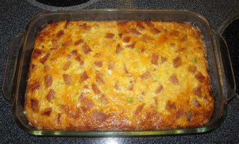cheese ham egg casserole jw recipes