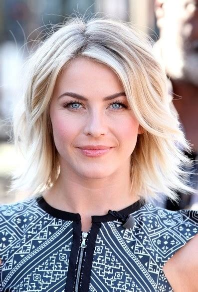 does julianne hough have thick hair julianne hough short haircut sexy layered short