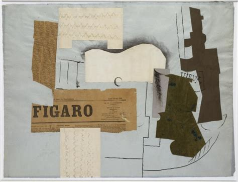 braque collage synthetic cubism tate