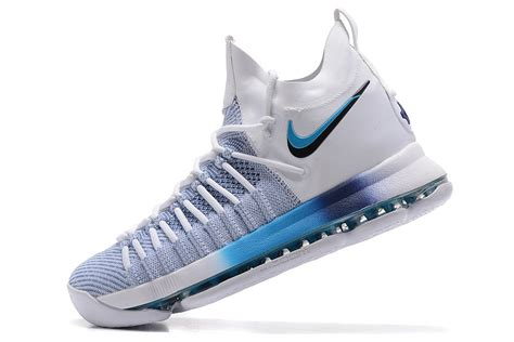 kd elite basketball shoes best sell nike zoom kd 9 elite white blue gradient s
