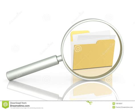Finder For Free With Information Information Search Royalty Free Stock Photography Image 13019597