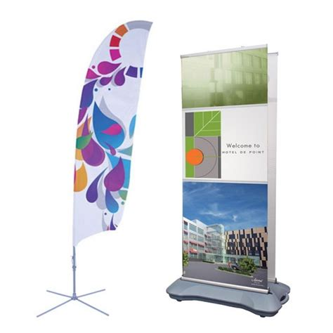 outdoor display feather flags and outdoor banner stands affordable