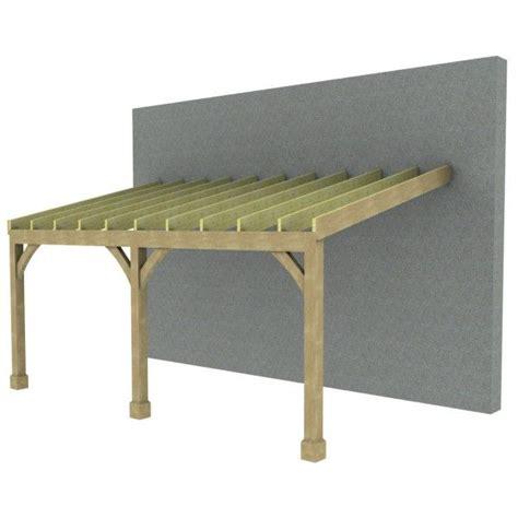 timber carport span tables 7m lean to carport post beam green oak or douglas