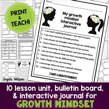 printable growth mindset questionnaire growth mindset by angela watson teachers pay teachers