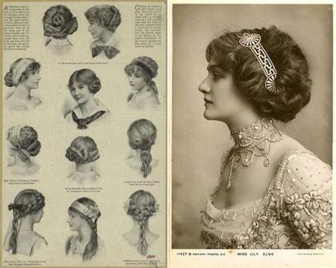 edwardian hairstyles history edwardian era hairstyles edwardian fashion pinterest