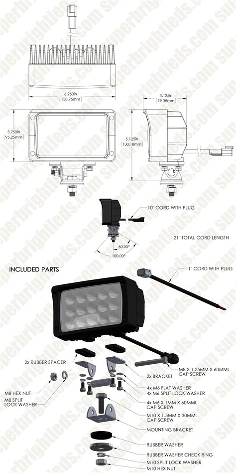 led tractor lights wiring diagram for work kasea dune