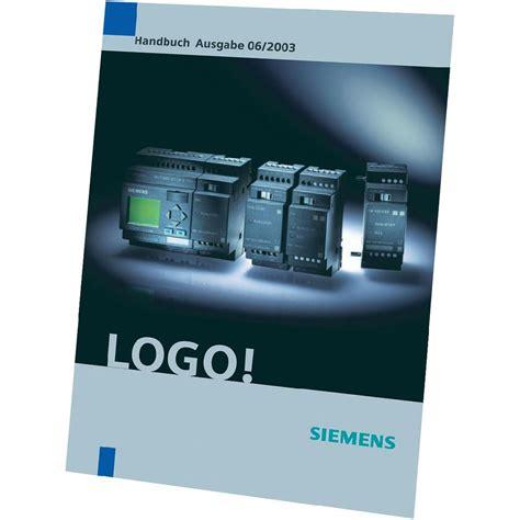 tutorial logo siemens pdf siemens logo manual 0ba6 6ed1050 1aa00 0ae7 from conrad com