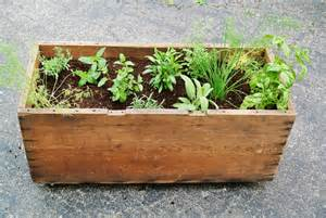 herb planter ideas 10 adorable diy planter box ideas