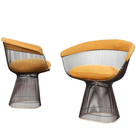 Platner Dining Chair Warren Platner Dining Chairs For Knoll At 1stdibs