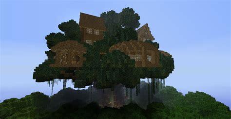 minecraft tree houses biggest treehouse in minecraft design decor 37946