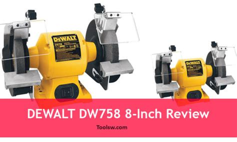 dewalt bench grinder review craftsman vs porter cable vs ryobi which 8 inch bench grinders are best
