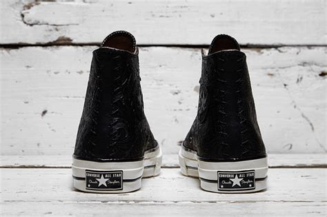 Converse 70s High X Kith X Cocacola White converse chuck embossed floral pack sneakerfiles