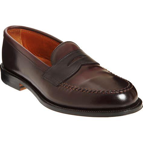 alden loafer alden loafer in brown for lyst