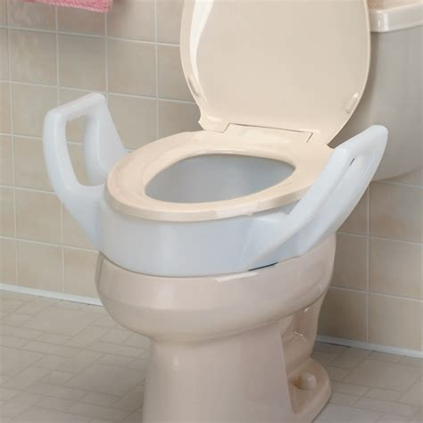 toilet seat with arms raised toilet seat with arms coast