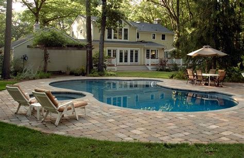 Swimming Pool Patio Designs Swimming Pool Wyckoff Nj Photo Gallery Landscaping Network
