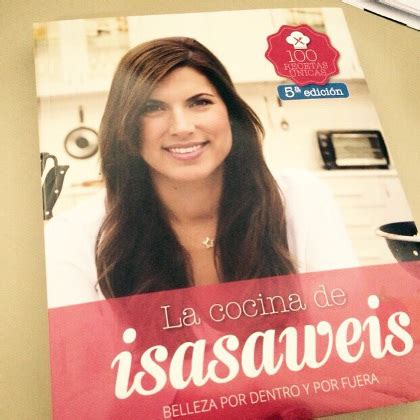 libro la cocina de isasaweis el libro de recetas de isasaweiss