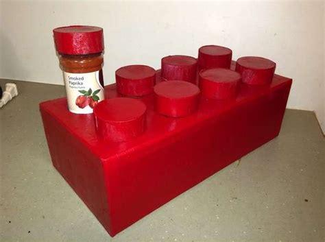diy toy block spice racks novelty spice rack