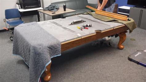 pool tables colorado springs assembly and refelt on an 8 connelly pool table at the