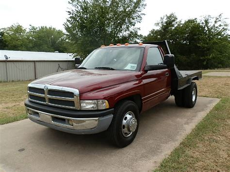 dodge ram 3500 truck bed for sale 2001 dodge ram 3500 reg cab flat bed for sale in canton tx