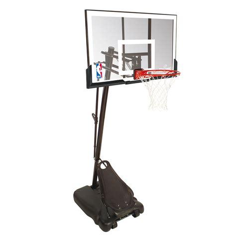 spalding basketball table spalding nba gold portable basketball system