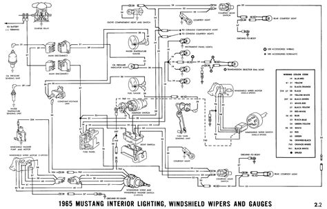 wiring diagram for 66 mustang ignition switch wiring